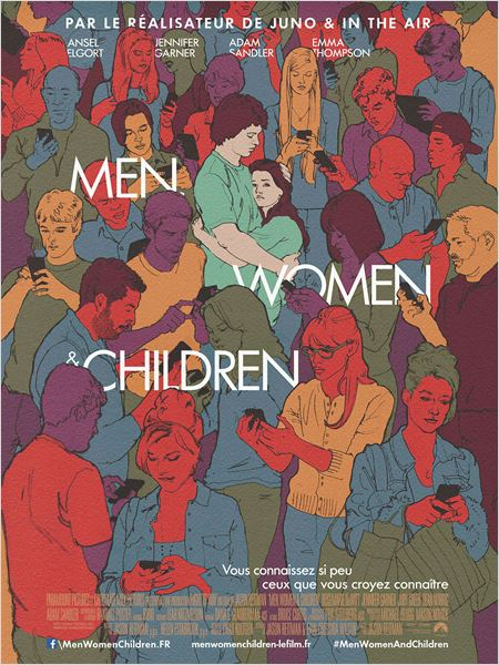 CINEMA : <i>Men, Women and Children</i> (2014) de/by Jason Reitman 2 image