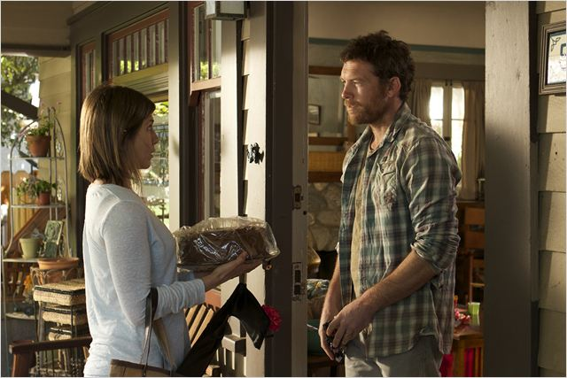 Cake : Photo Jennifer Aniston, Sam Worthington