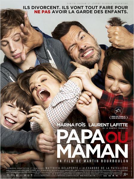 Papa ou maman : Affiche