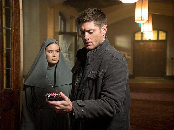 Photo de rachel keller dans la s rie supernatural photo 6 sur 8 allocin - Jensen ackles taille ...