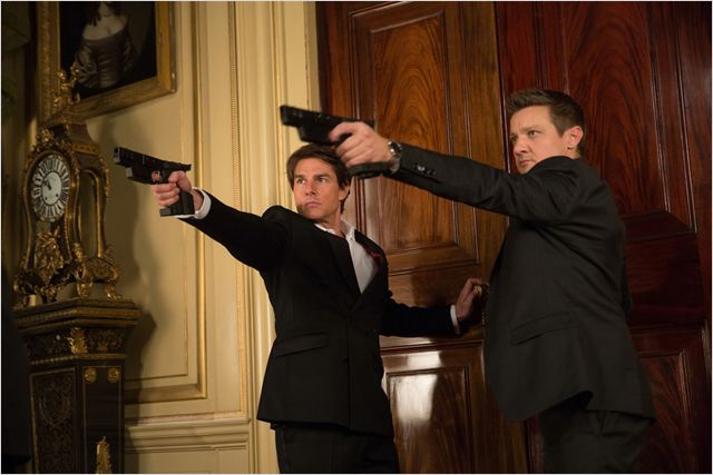 Mission: Impossible - Rogue Nation : Photo Jeremy Renner, Tom Cruise