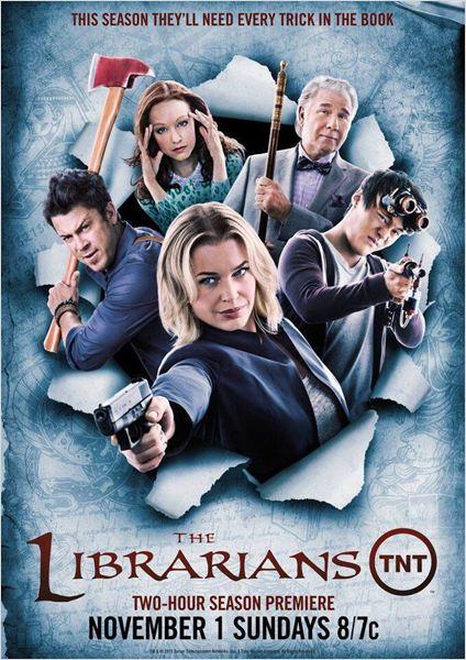 The Librarians saison 2 en vo / vostfr