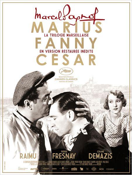 La Trilogie Marseillaise de Marcel Pagnol : Marius : Affiche