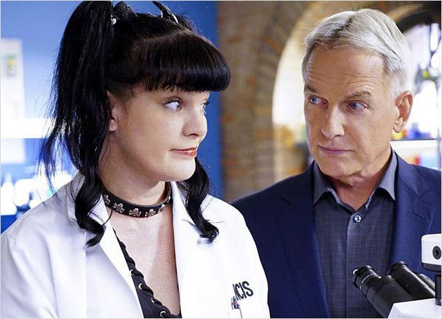 Photo Mark Harmon, Pauley Perrette