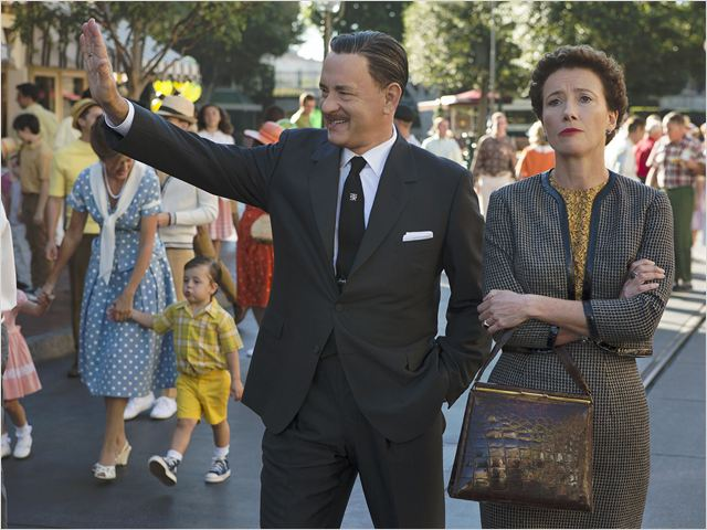 Dans l'ombre de Mary : Photo Emma Thompson, Tom Hanks