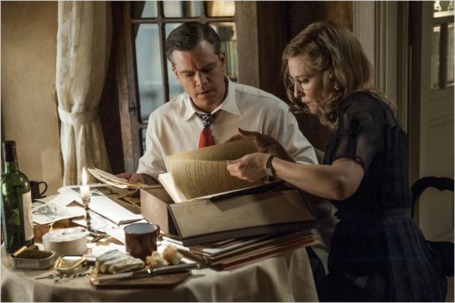 Monuments Men : Photo Cate Blanchett, Matt Damon