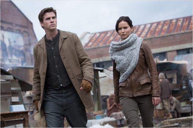 Hunger Games - L'embrasement : Photo Jennifer Lawrence, Liam Hemsworth