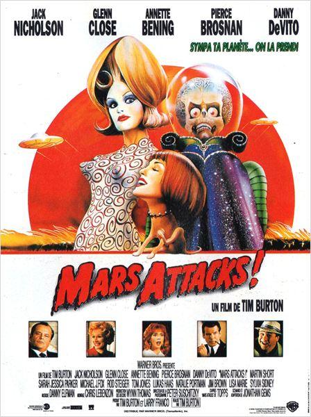 Mars Attacks! : Affiche