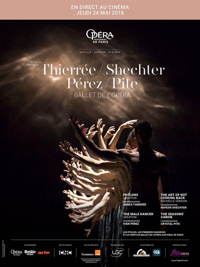 Pite - Pérez - Shechter (Opéra de Paris-FRA Cinéma)