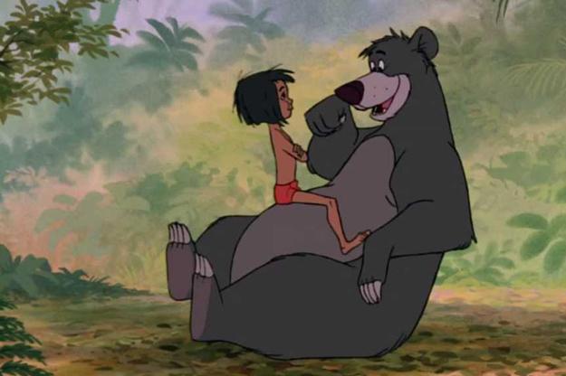 mowgli et baloo le livre de la jungle 15 enfants qui ont un monstre g ant comme meilleur ami. Black Bedroom Furniture Sets. Home Design Ideas