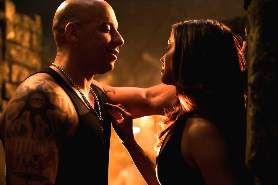 Vin Diesel sur le tournage de xXx: The Return of Xander Cage