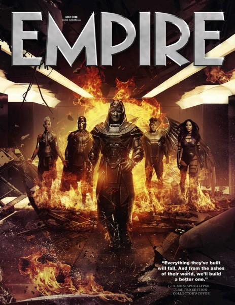 La couverture d'Empire en édition limitée
