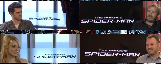 """The Amazing Spider-Man"" : l'équipe au micro ! [VIDEO]"