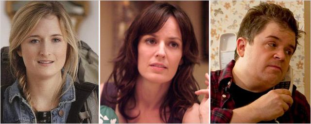 "Grace Gummer, Rosemarie Dewitt et Patton Oswalt dans ""The Newsroom"""