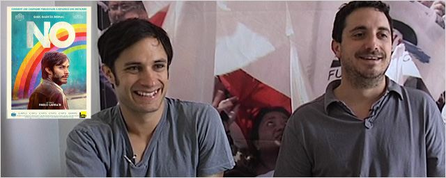 """No"" : Gael Garcia Bernal et Pablo Larrain au micro ! [VIDEO]"