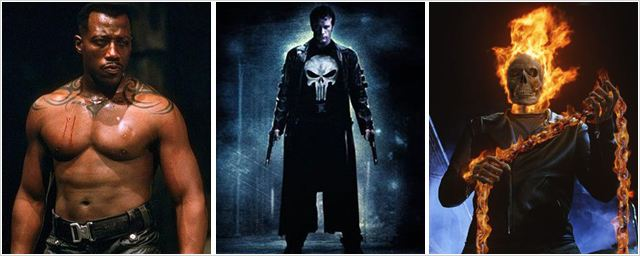 Blade, The Punisher et Ghost Rider de retour chez Marvel !