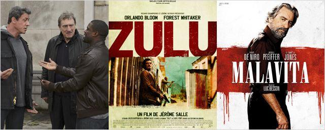 """""""Zulu"""", """"Malavita"""", """"Grudge Match""""... Les bandes-annonces de la semaine à ne pas rater !"""