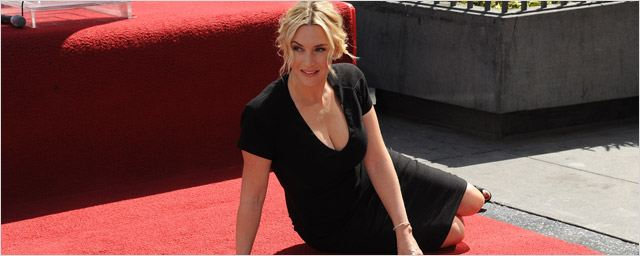 Kate Winslet reçoit son étoile sur Hollywood Boulevard [PHOTOS]