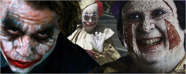 12 clowns qui font peur !
