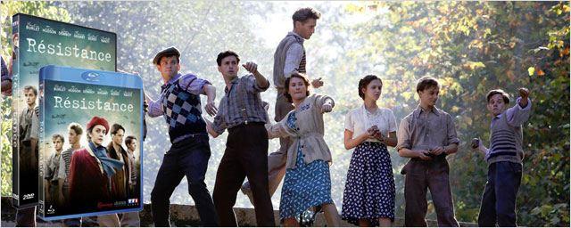 La jeune génération fait de la Résistance en DVD/Blu-ray