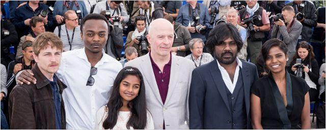Cannes 2015 : Jacques Audiard et ses acteurs posent pour Dheepan