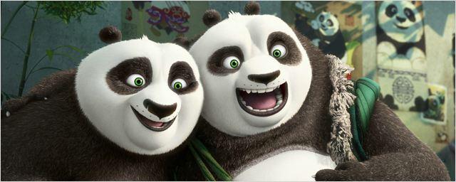 Kung Fu Panda 3 : Po et son père au coeur des concept arts