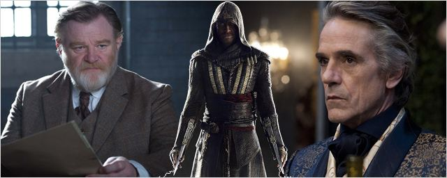 Assassin's Creed: Jeremy Irons et Brendan Gleeson rejoignent l'adaptation