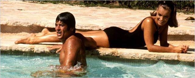 """Quand Romy Schneider parle d'Alain Delon sur le tournage de """"La Piscine""""..."""