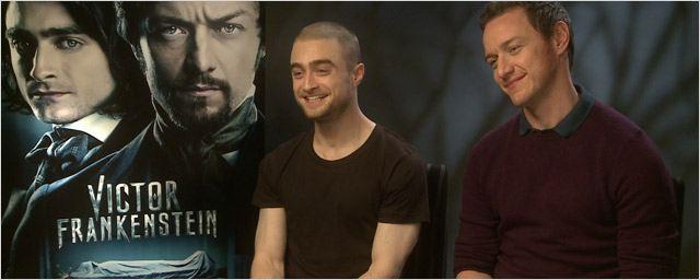 Daniel Radcliffe - James McAvoy : l'interview quiz !