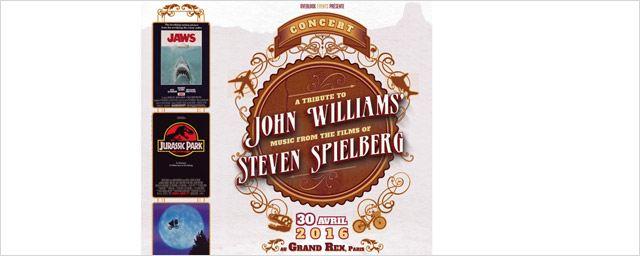 John Williams / Steven Spielberg : un concert-hommage le 30 avril au Grand Rex... avec un invité culte !