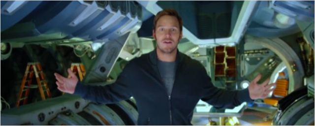 Les Gardiens de la Galaxie 2 : la visite du tournage continue avec Chris Pratt