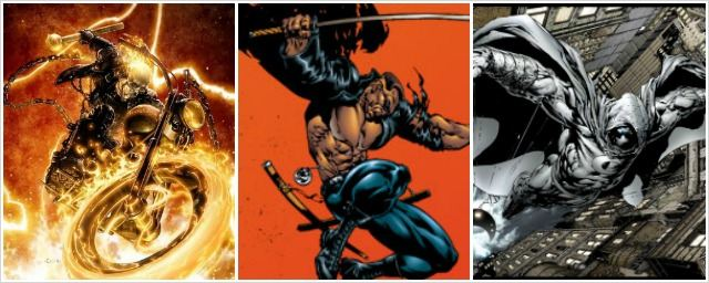Marvel : Blade, Ghost Rider et Moon Knight chez Netflix ?