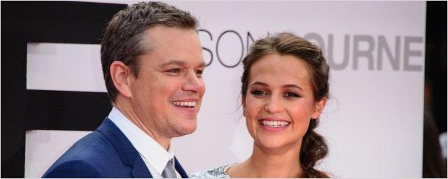 Jason Bourne : Matt Damon et Alicia Vikander enflamment Londres et Paris lors des premières