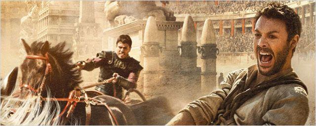 Extrait Ben-Hur : le prince déchu de Judée affronte son frère dans une course de chars à couper le souffle !