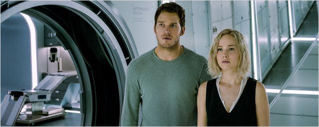 """Les """"Passengers"""" Chris Pratt et Jennifer Lawrence vous répondent"""