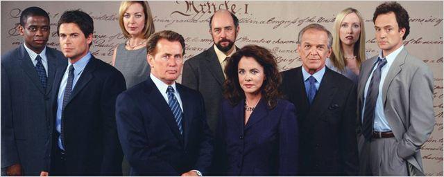 La maison blanche s rie tv 1999 allocin for A la maison blanche saison 1