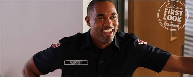 Grey's Anatomy : premières photos du spin-off sur les pompiers avec Ben Warren
