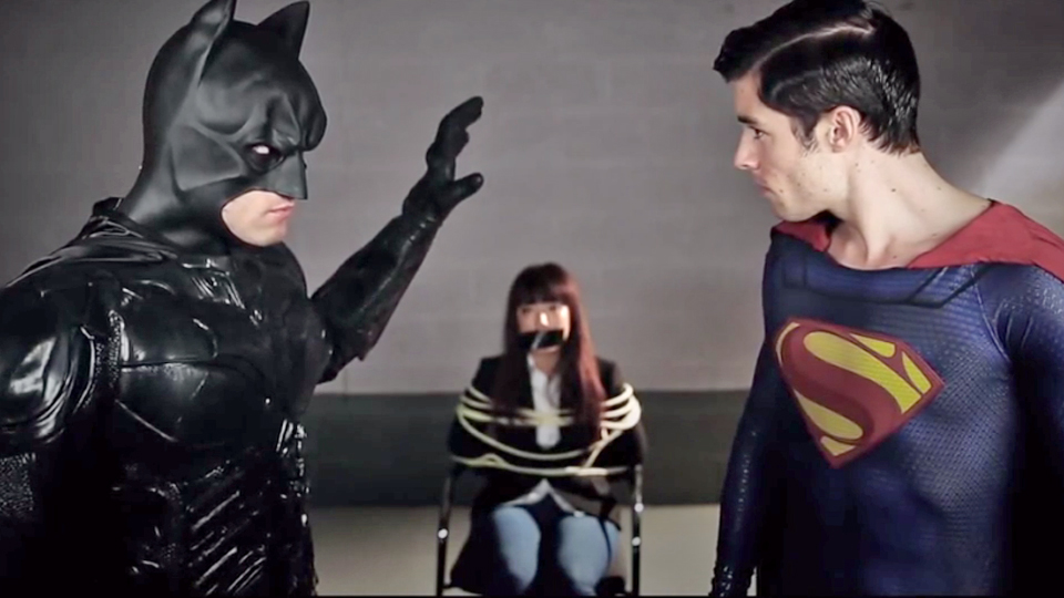 parodie film superman