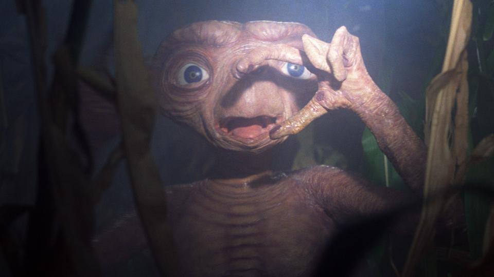 parodie et l'extraterrestre