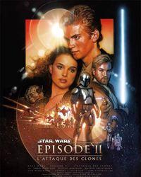 Affiche du film Star Wars : Episode II - L'Attaque des clones