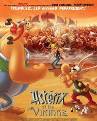 Affiche du film Astérix et les Vikings