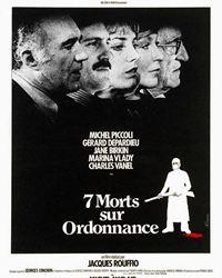 Affiche du film Sept morts sur ordonnance
