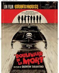 Affiche du film Boulevard de la mort - un film Grindhouse