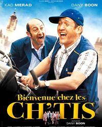 Affiche du film Bienvenue chez les Ch'tis