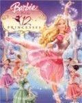 Affiche du film Barbie au bal des 12 princesses
