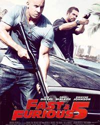 Affiche du film Fast and Furious 5