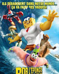 Affiche du film Bob l'éponge - Le film : Un héros sort de l'eau
