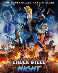 Affiche du film Chuck Steel: Night Of The Trampires