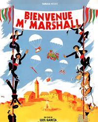 Affiche du film Bienvenue Mr Marshall