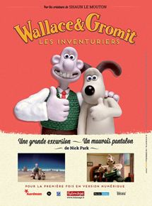 Wallace & Gromit : Les Inventuriers streaming